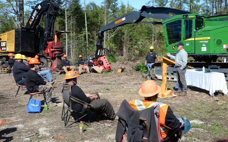 Maine Biz Logging Photo